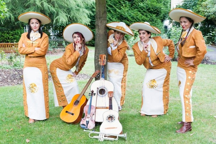 Book An All Girl Mariachi Band For Hire in the UK For Events - Music for London