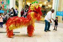 Kids-Excited-Chinese-Lion-London