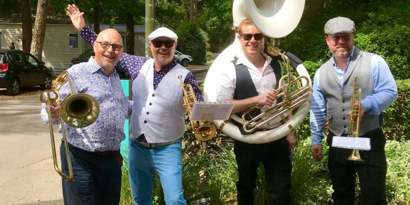 Fun Brass Band for Outdoor Events