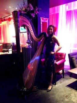 Harpist-London