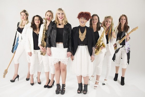 8 Piece All Female Funk Band In London