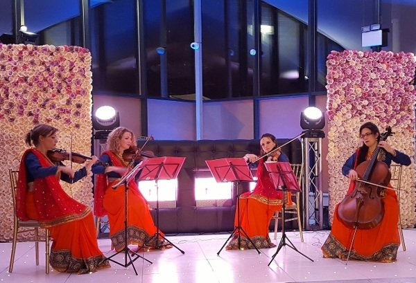 Hire Bombay Girls Indian Themed String Quartet In London