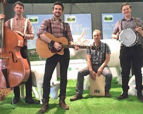 Country Pop Barndance Trio & Quartet - Music for London