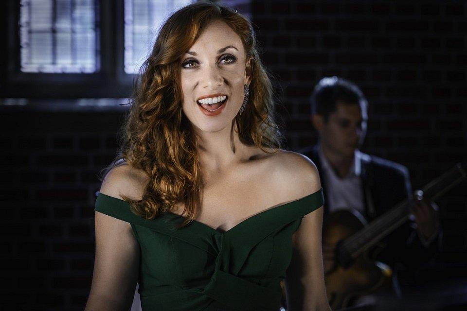 Female Jazz Singer and Band
