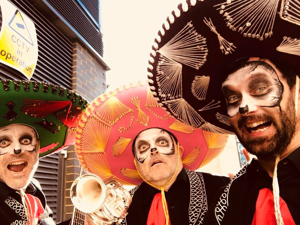 Day of the Dead Mexican Themed Live Band