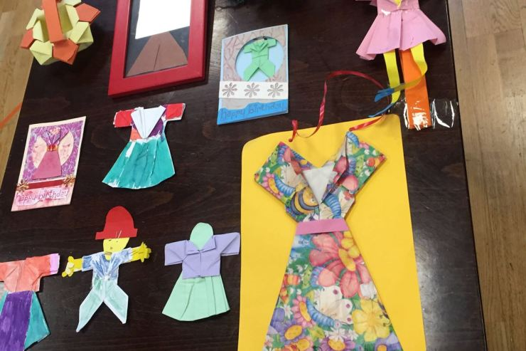 Origami-little-dresses-clothes-kids