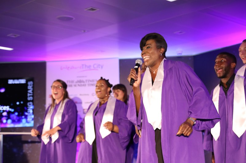 Book The London Gospel Singers for Events - Music for London