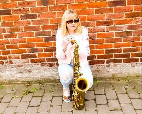 Book A Solo Female Saxophonist for Events in London - Music for London