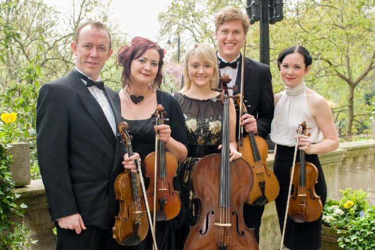 Book A Strings Quintet For Events in London - Music for London