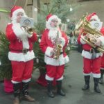 Santa Brass Quintet Christmas Entertainers