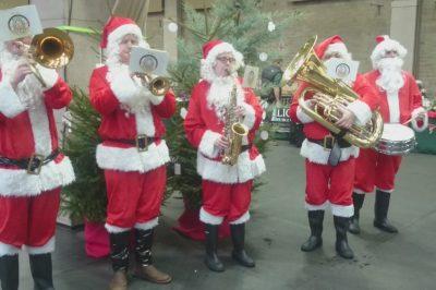 Santa Brass Quintet Christmas Entertainers