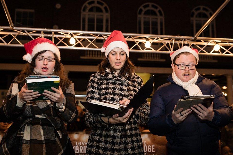 Carol Singers in London