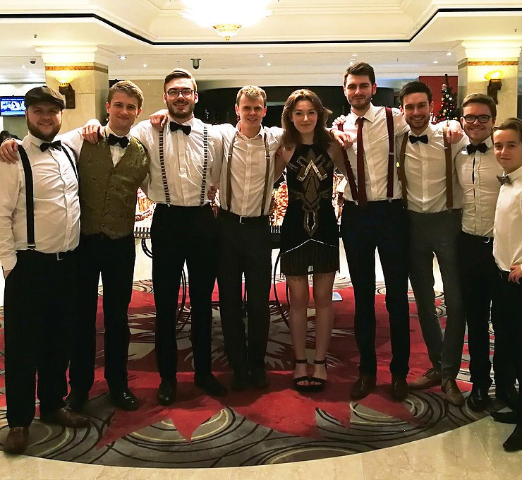 8 Piece Wedding Music Band with an Amazing Female Singer.