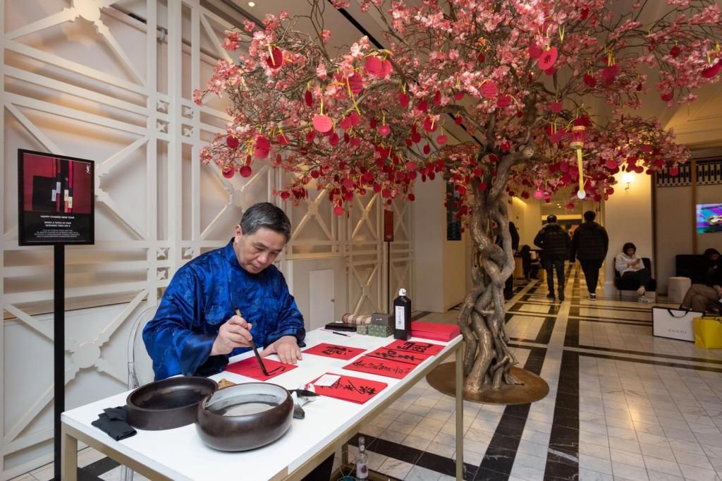 Chinese Calligraphers in London