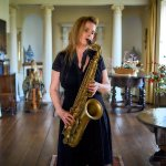 Sole Female Saxophonist