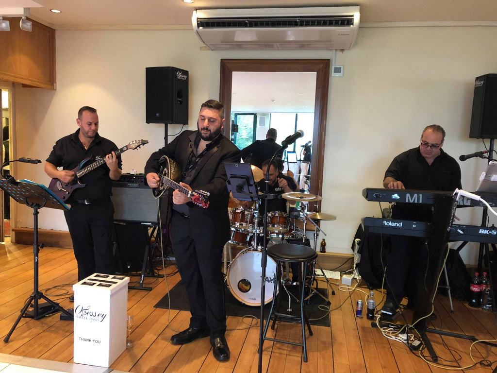 Book a London Greek Wedding Band