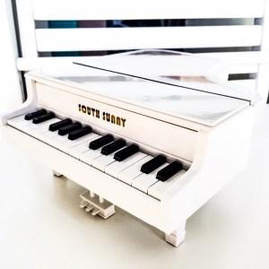 Нощна лампа - бял роял Огледални октави