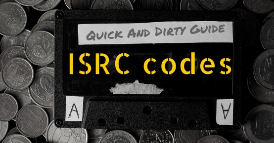 embedding isrc codes