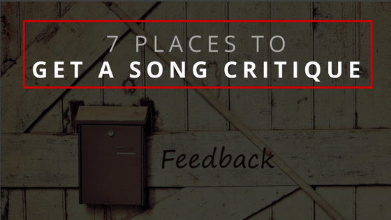 7 Places To Get A Song Critique In 2020