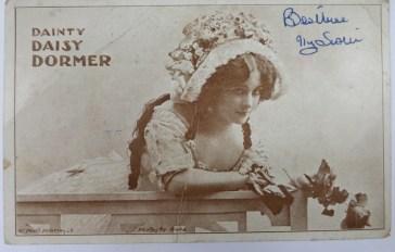 Dainty Daisy Dormer postcard