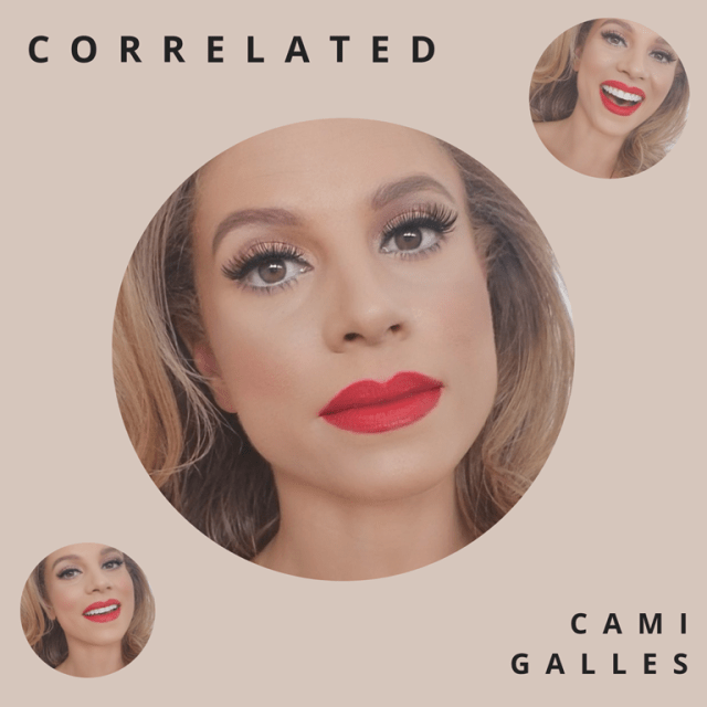 Brush with death galvanizes eclectic songstress Cami Galles into releasing uplifting soul-pop solo debut, Correlated.