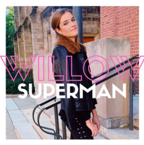 The new single 'Superman' from 'Willow Woodward' is another leap forward lyrically and musically.