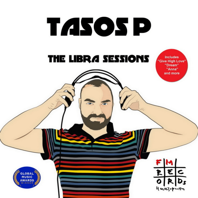 Electronic music producer 'Tasos Petsas' unleashes his second album full of hits with 'The Libra Sessions' on FM Records