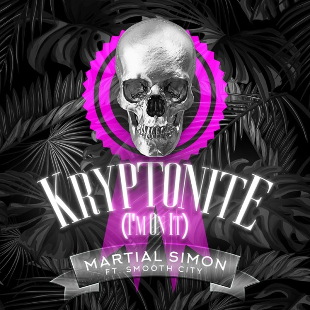 New York producer 'Martial Simon' lets loose a huge, stomping, deep bass club sound with his  mysterious but upfront super g-house anthem 'Kryptonite' feat 'Smooth City'