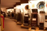 The history of the phonograph is displayed in our self-guide tour area.