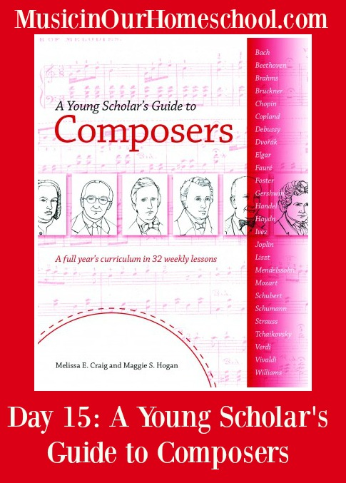 A Young Scholar's Guide to Composers graphic