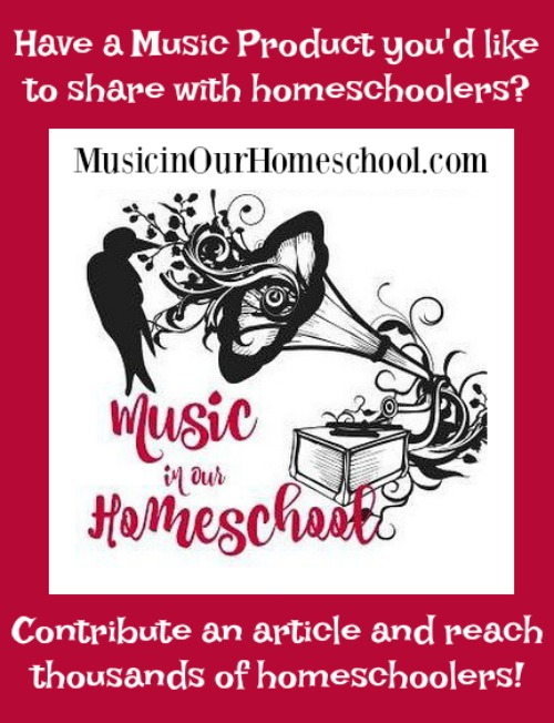 Sponsor Music in Our Homeschool. If you are a music publisher or have any kind of music product for homeschoolers, share it with our audience to reach thousands of homeschooles.