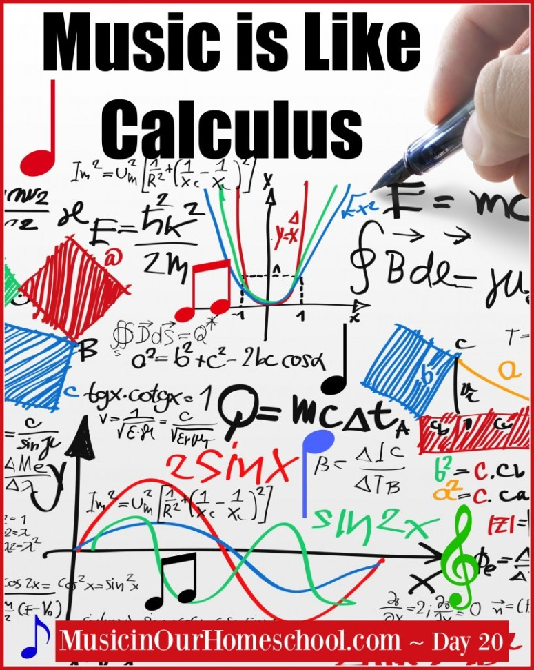 Music is Like Calculus