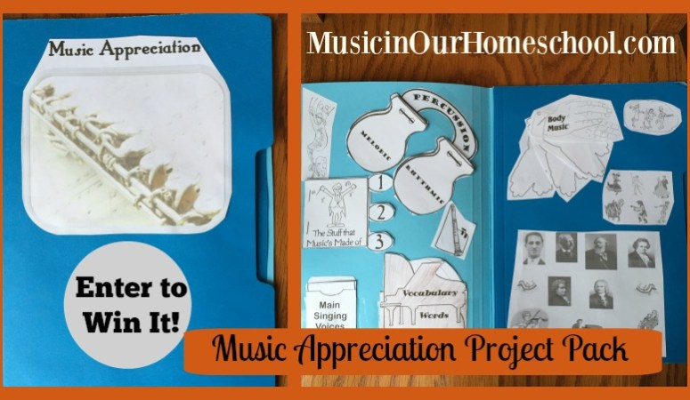 Review : Music Appreciation Project Pack from Hands of a Child