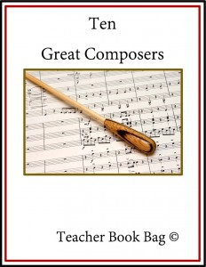 Ten Great Composers from Teacher Book Bag