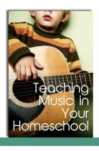 Teaching Music in Your Home