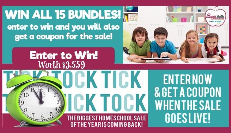 Enter to win $3,559 in Homeschool Curriculum!