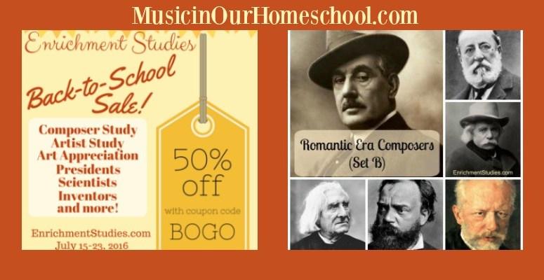Enrichment Studies Back-to-School sale