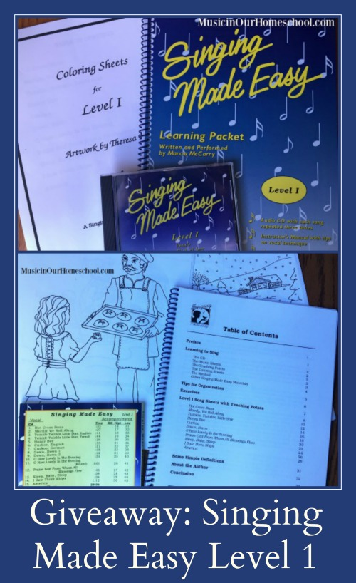 Giveaway of Singing Made Easy Level 1