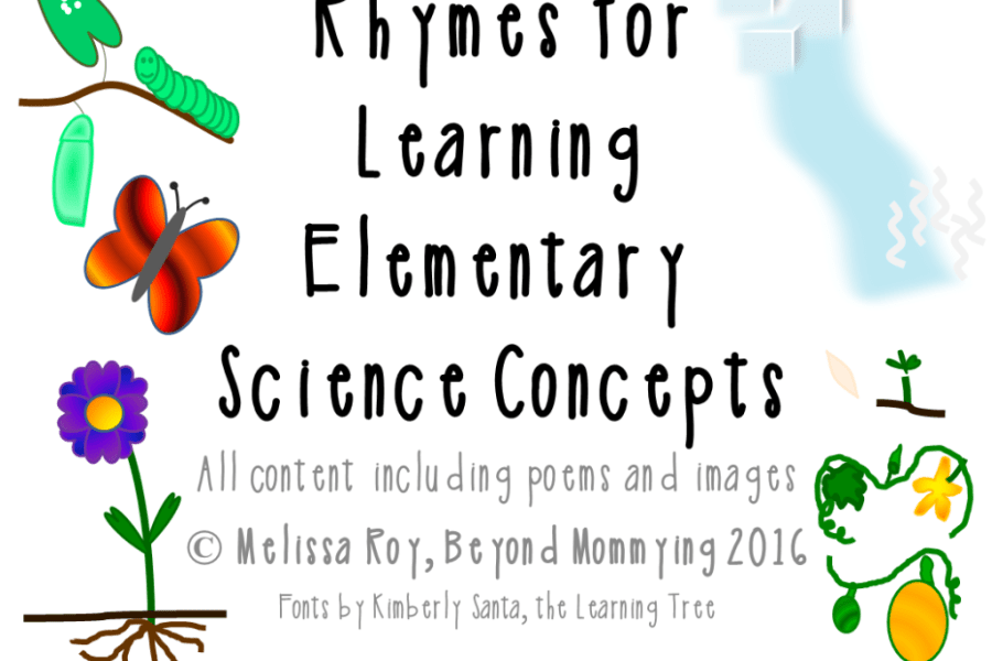 Science Poems for Elementary Science Concepts