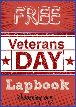 Free Veterans Day Lapbook
