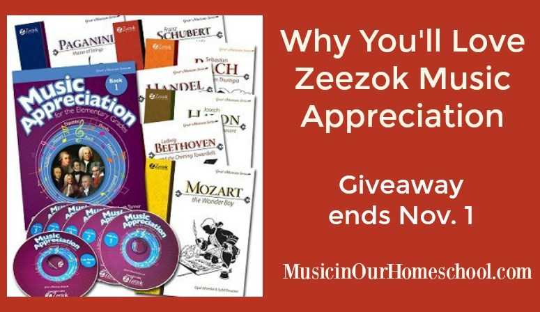 Why You'll Love Zeezok Music Appreciation (with a giveaway, ends Nov. 1)