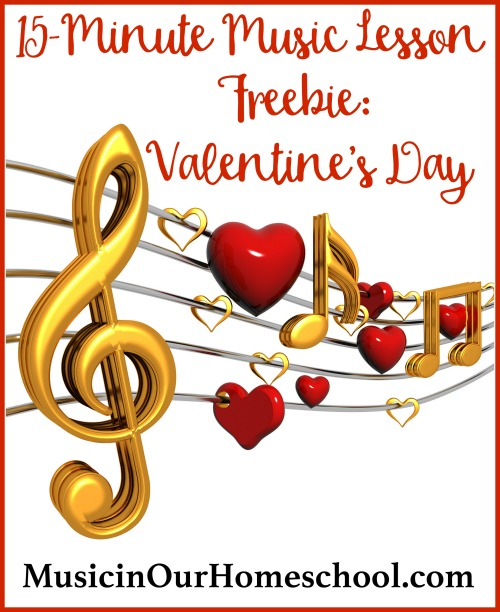 15-Minute Music Lesson Freebie Valentine's Day