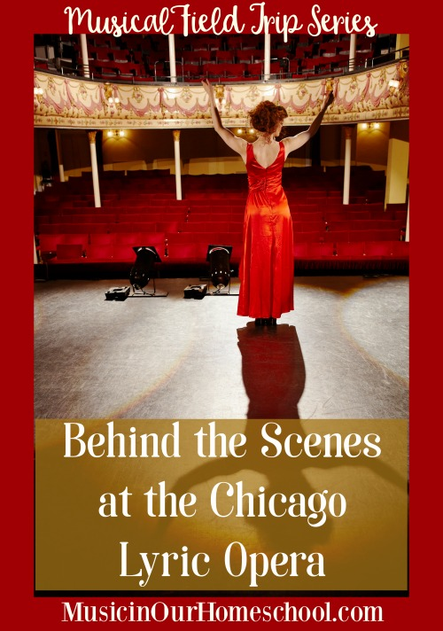 Behind the Scenes at the Chicago Lyric Opera backstage tour