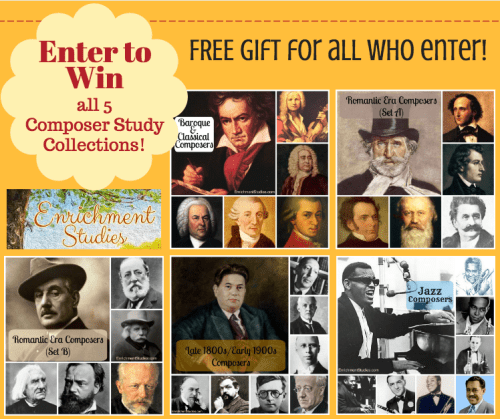 Enrichment Studies Composer Study Collections giveaway
