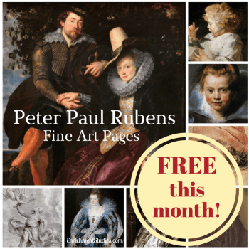 Peter Paul Rubens Fine Art Pages free this month