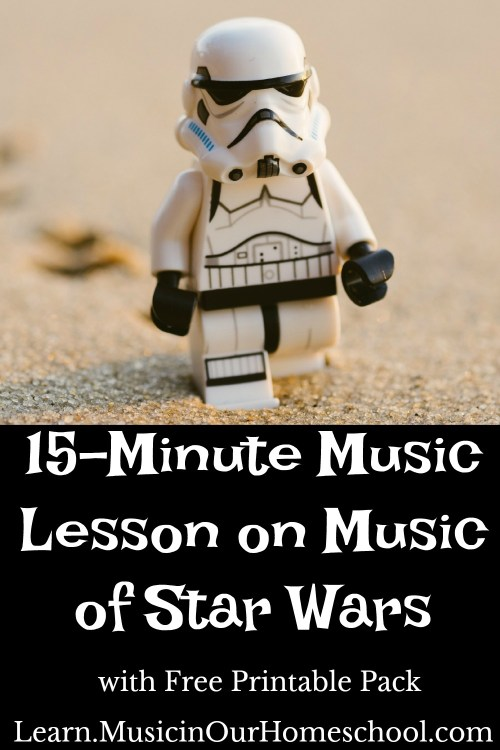 15-Minute Music Lesson on Music of Star Wars. Learn about John Williams and his themes/leitmotifs.