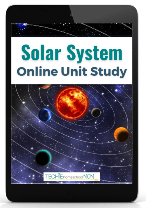 Solar System Online Unit Study