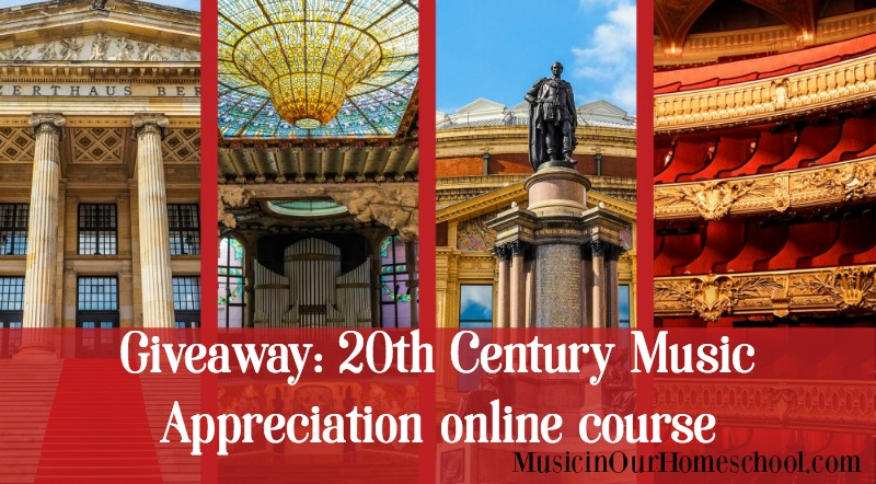 Giveaway: 20th Century Music Appreciation online course ($99 value!)