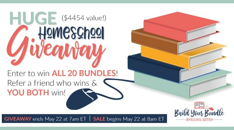 Giveaway for Build Your Bundle homeschool curriculum sale