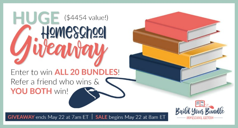 Giveaway of Over $4400 Worth of Homeschool Curriculum!